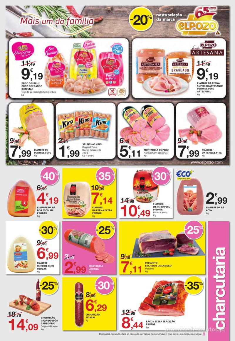 Folheto E.leclerc Uma semana cheia de promoções - 6 de Junho a 12 de Junho - página 9