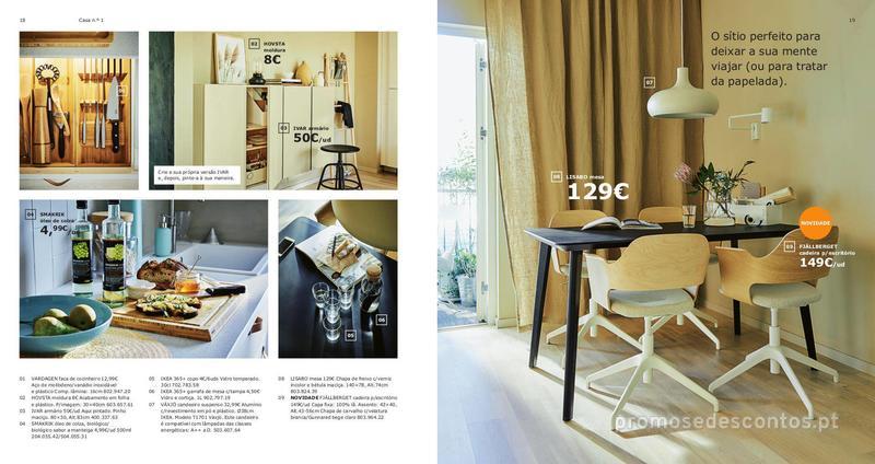 Folheto IKEA Catálogo 2018/19 - 24 de Agosto a 31 de Julho - página 10