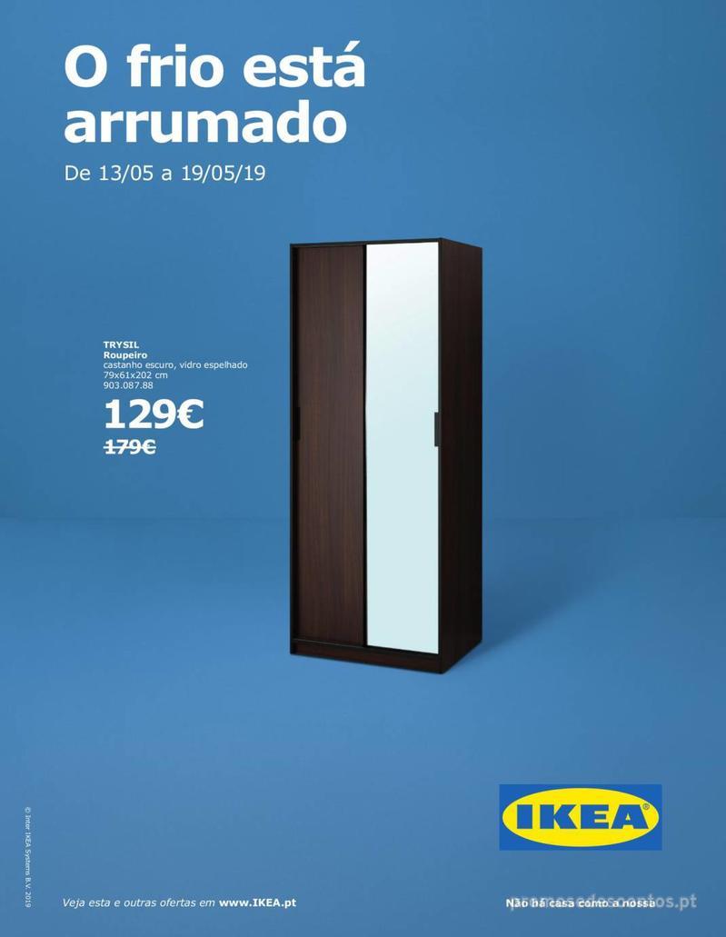Folheto IKEA O frio está arrumado - 13 de Maio a 19 de Maio - página 1