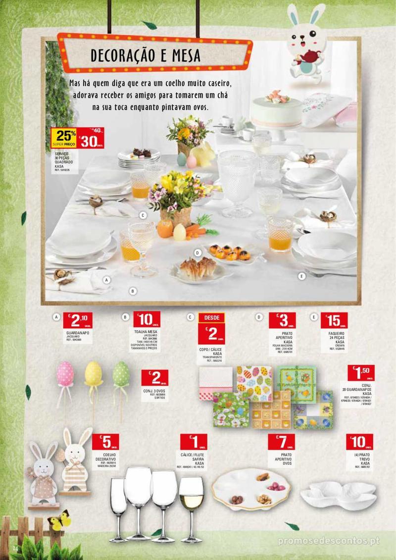 Folheto Continente Feira da Páscoa - 26 de Março a 22 de Abril - página 24