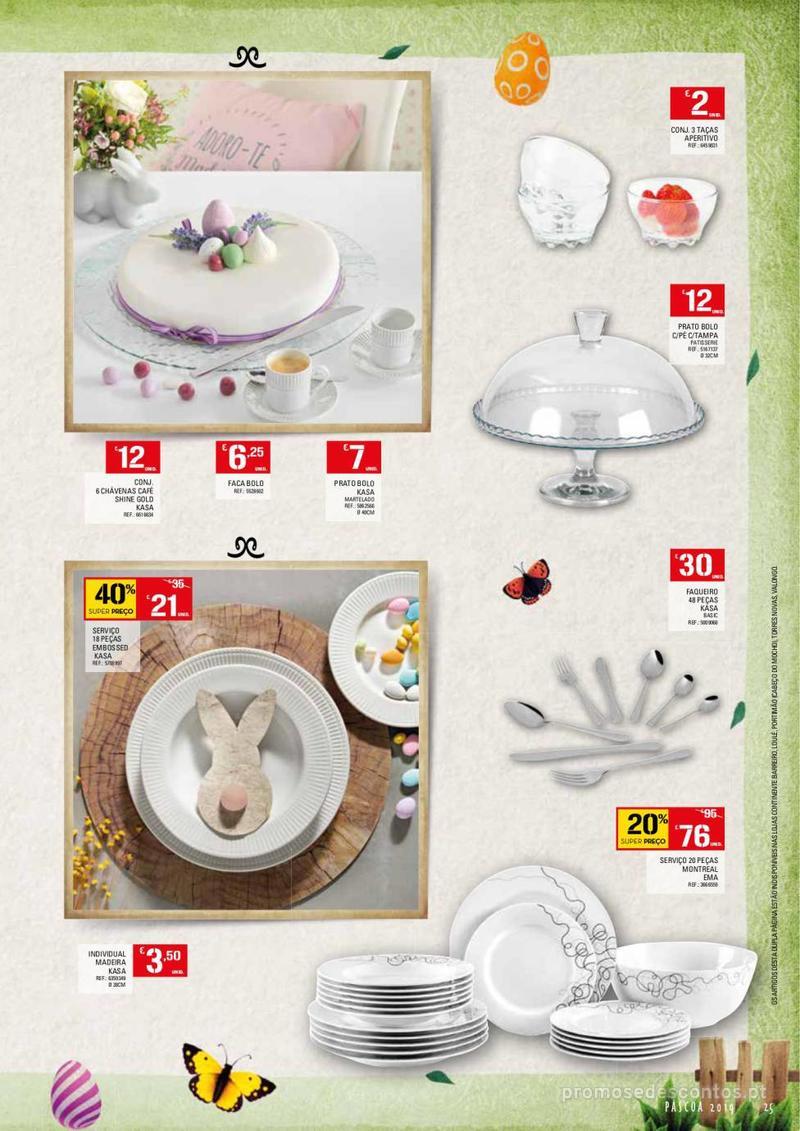 Folheto Continente Feira da Páscoa - 26 de Março a 22 de Abril - página 25