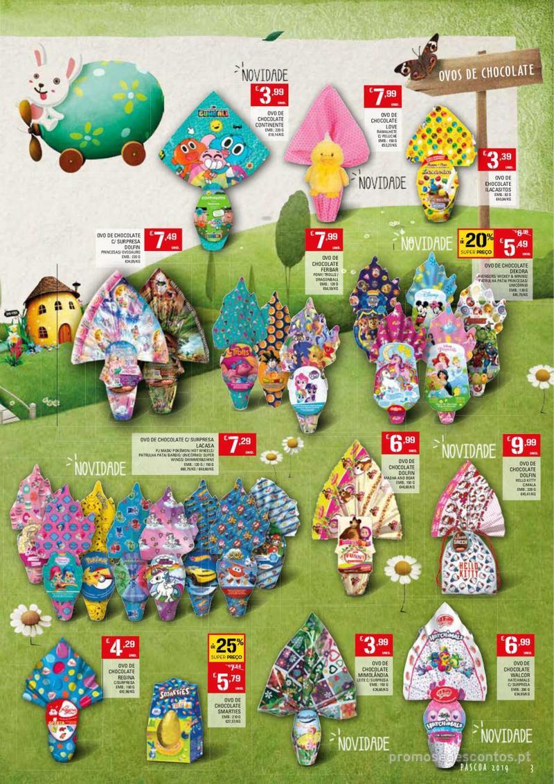 Folheto Continente Feira da Páscoa - 26 de Março a 22 de Abril - página 3