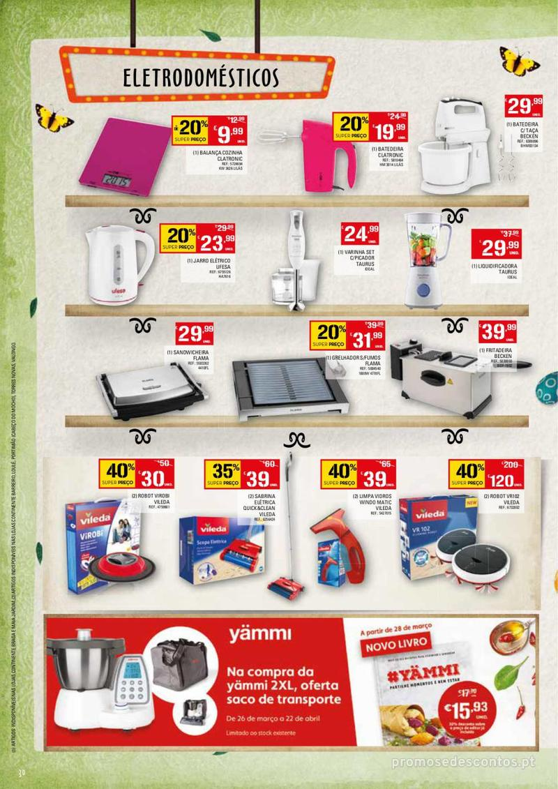 Folheto Continente Feira da Páscoa - 26 de Março a 22 de Abril - página 30