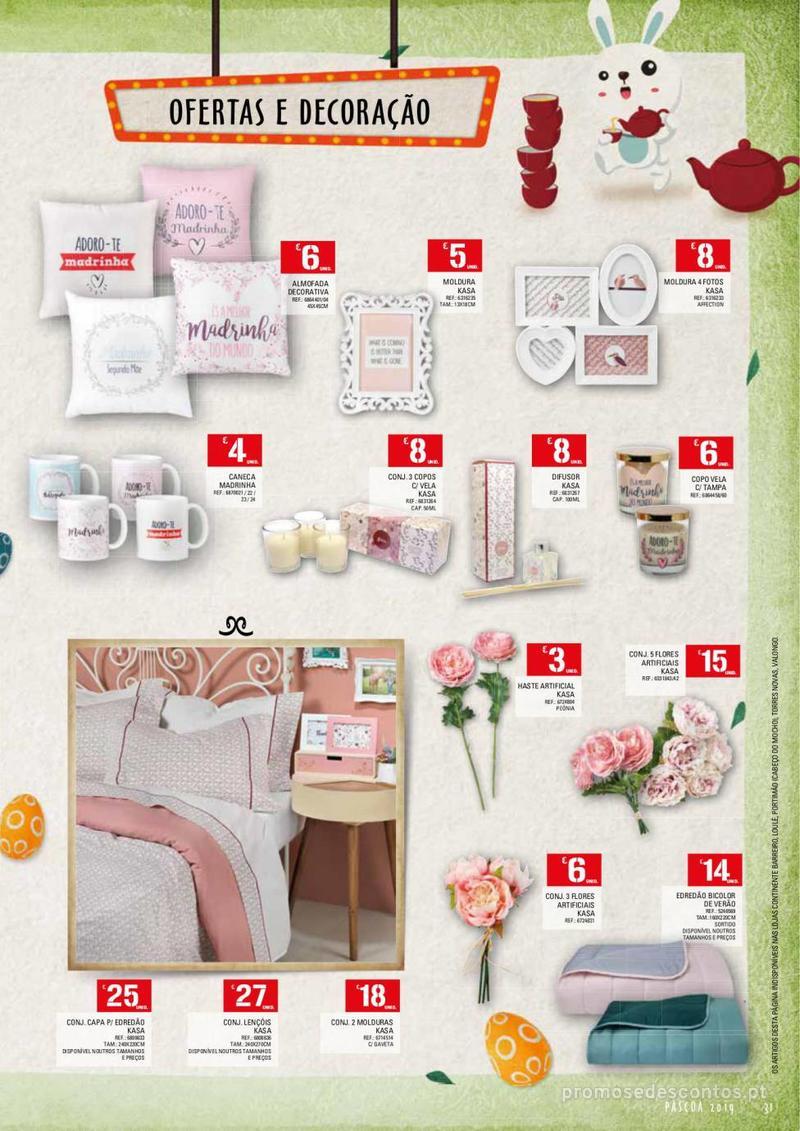 Folheto Continente Feira da Páscoa - 26 de Março a 22 de Abril - página 31