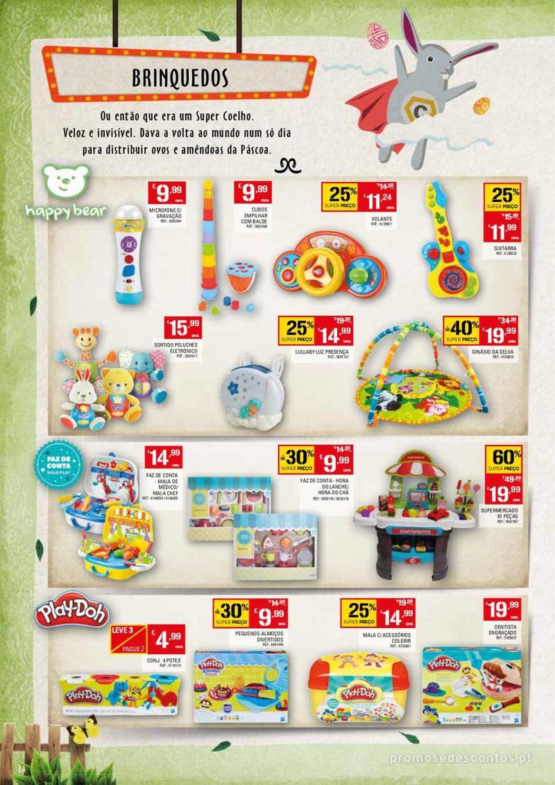 Folheto Continente Feira da Páscoa - 26 de Março a 22 de Abril - página 34