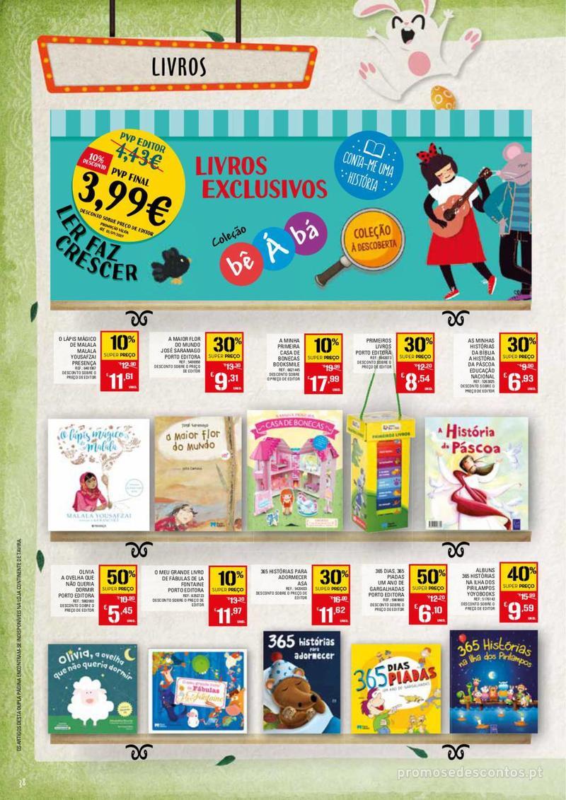 Folheto Continente Feira da Páscoa - 26 de Março a 22 de Abril - página 38