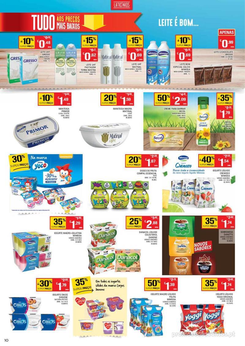 Folheto Continente Tudo aos preços mais baixos - Madeira - 9 de Janeiro a 15 de Janeiro - página 10