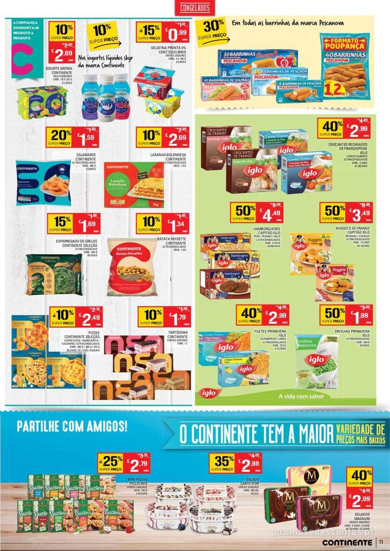Folheto Continente Tudo aos preços mais baixos - Madeira - 9 de Janeiro a 15 de Janeiro - página 11