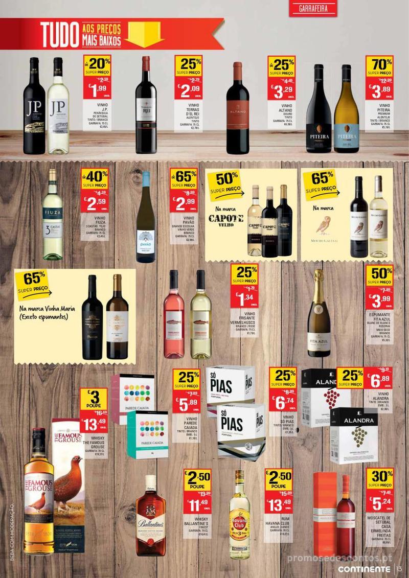 Folheto Continente Tudo aos preços mais baixos - Madeira - 9 de Janeiro a 15 de Janeiro - página 13