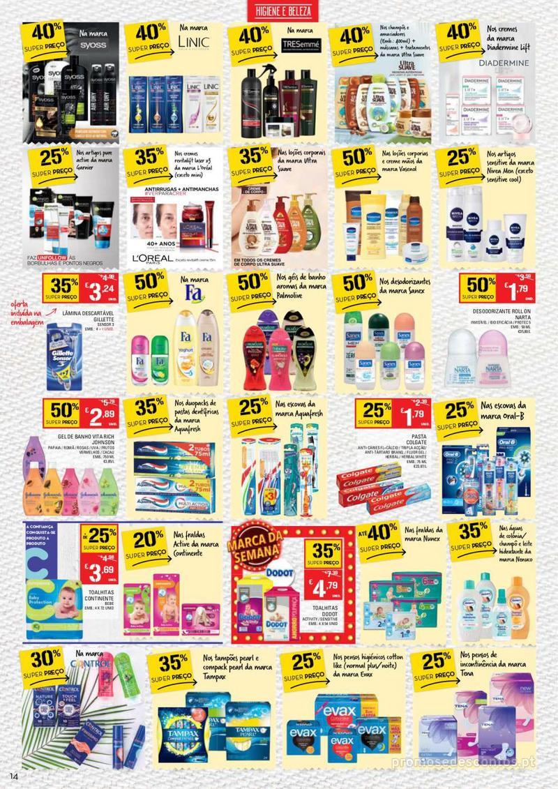 Folheto Continente Tudo aos preços mais baixos - Madeira - 9 de Janeiro a 15 de Janeiro - página 14