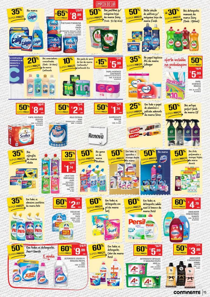 Folheto Continente Tudo aos preços mais baixos - Madeira - 9 de Janeiro a 15 de Janeiro - página 15