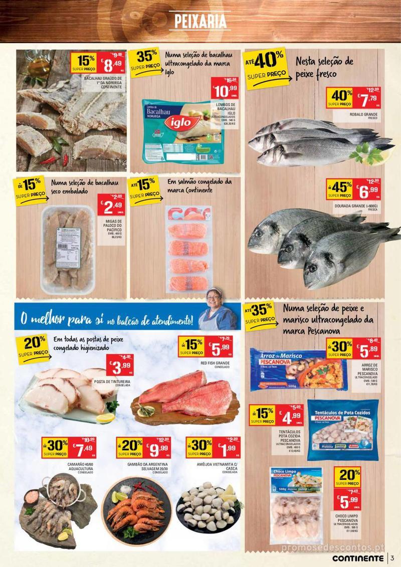 Folheto Continente Tudo aos preços mais baixos - Madeira - 9 de Janeiro a 15 de Janeiro - página 3