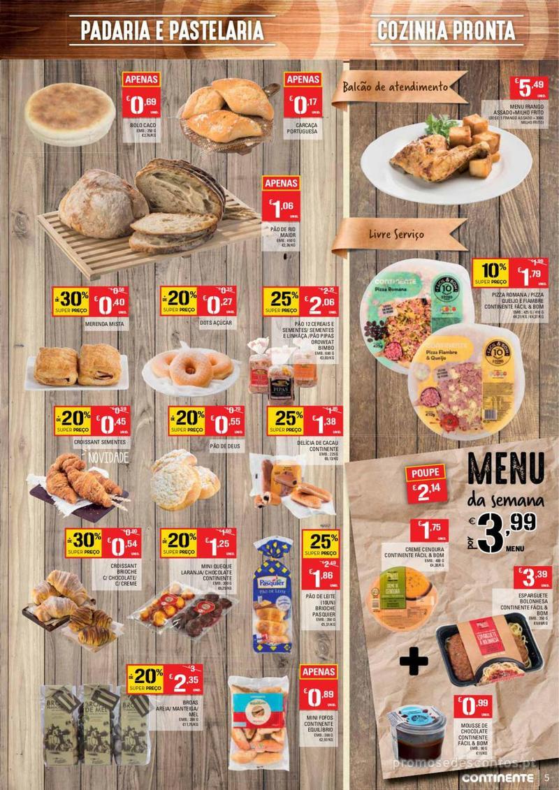 Folheto Continente Tudo aos preços mais baixos - Madeira - 9 de Janeiro a 15 de Janeiro - página 5