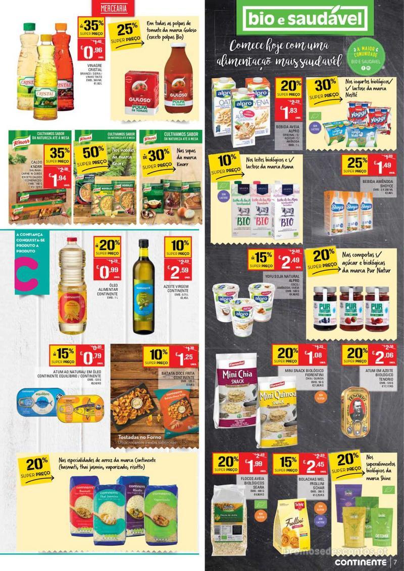 Folheto Continente Tudo aos preços mais baixos - Madeira - 9 de Janeiro a 15 de Janeiro - página 7