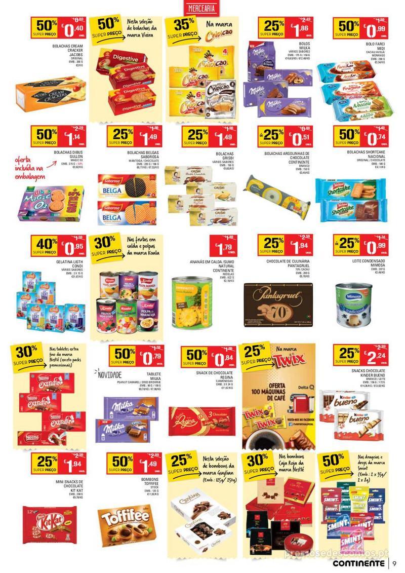 Folheto Continente Tudo aos preços mais baixos - Madeira - 9 de Janeiro a 15 de Janeiro - página 9