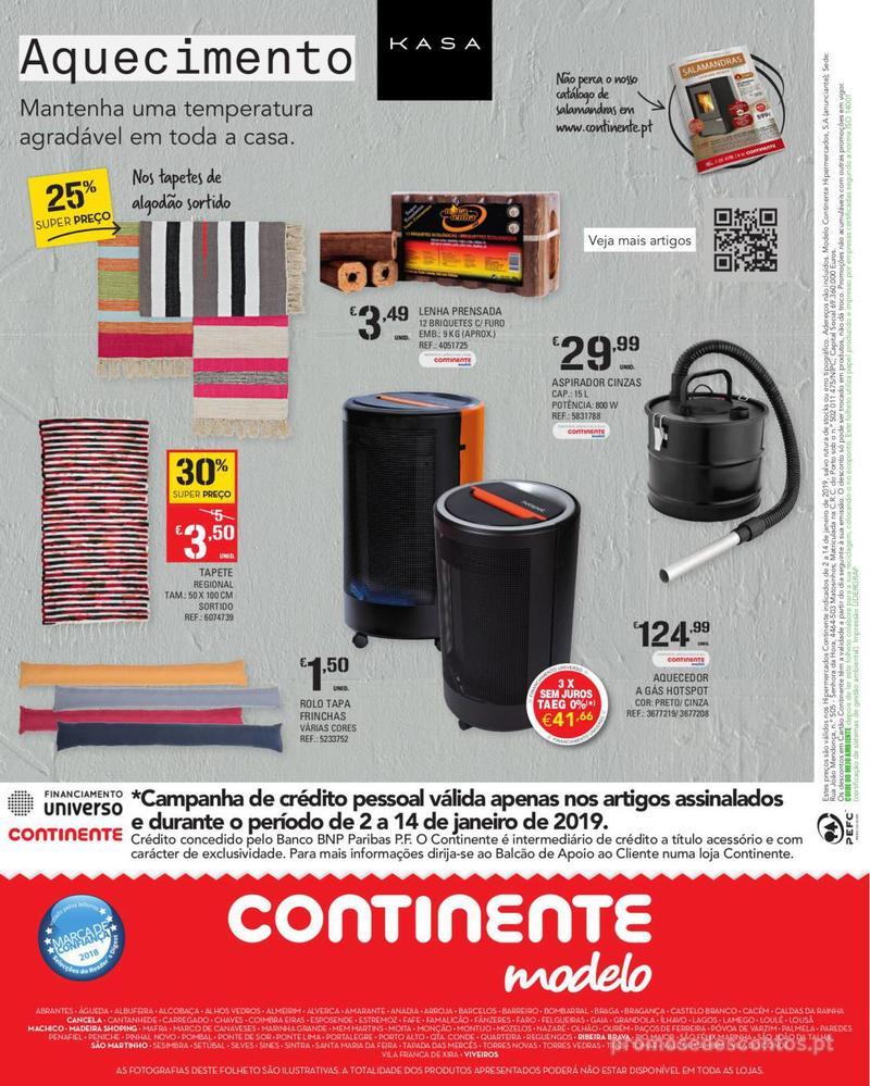 Folheto Continente Feira Aquecimento - Madeira - 2 de Janeiro a 14 de Janeiro - página 8