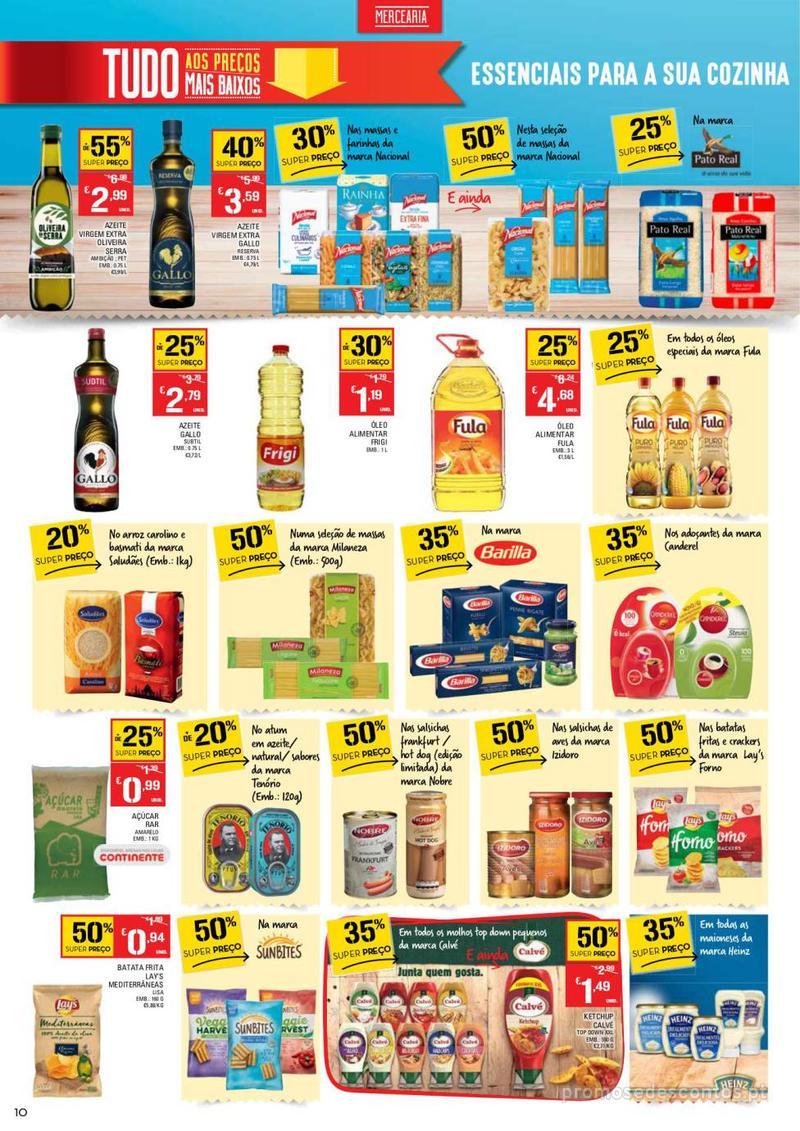 Folheto Continente Tudo aos preços mais baixos  - 8 de Janeiro a 14 de Janeiro - página 10