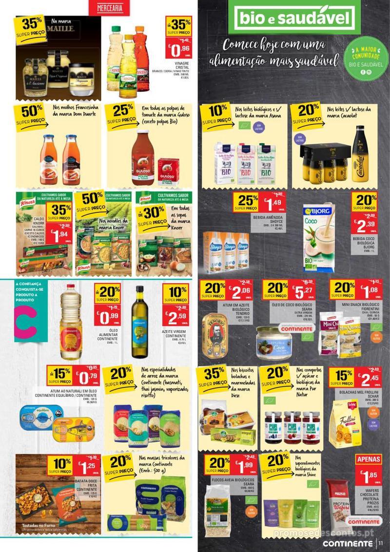Folheto Continente Tudo aos preços mais baixos  - 8 de Janeiro a 14 de Janeiro - página 11