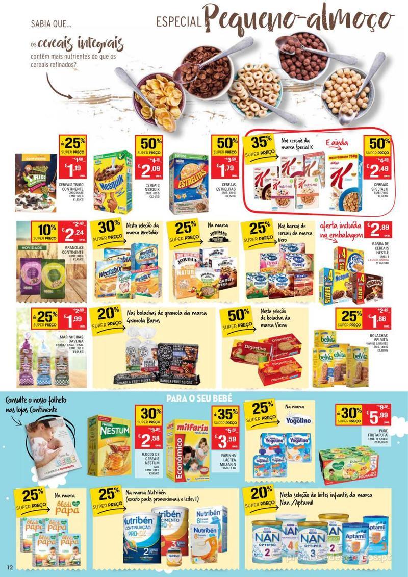 Folheto Continente Tudo aos preços mais baixos  - 8 de Janeiro a 14 de Janeiro - página 12
