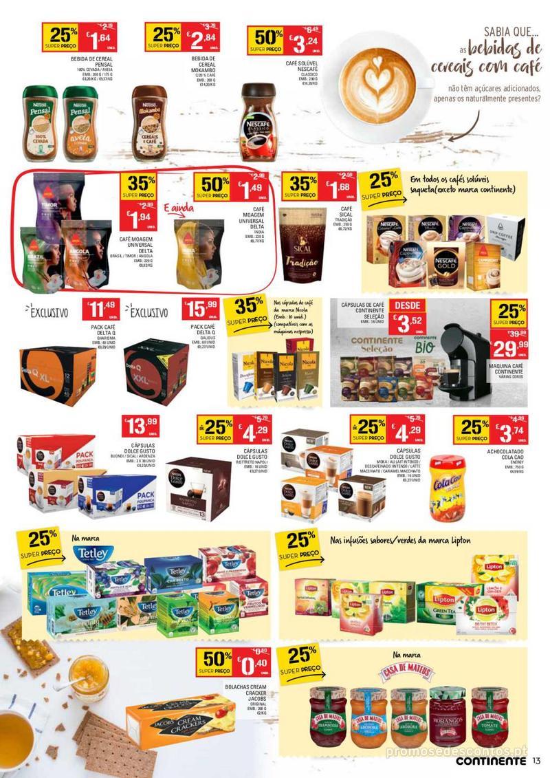 Folheto Continente Tudo aos preços mais baixos  - 8 de Janeiro a 14 de Janeiro - página 13