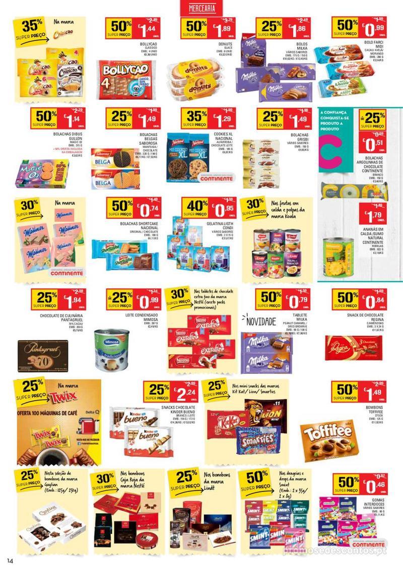 Folheto Continente Tudo aos preços mais baixos  - 8 de Janeiro a 14 de Janeiro - página 14