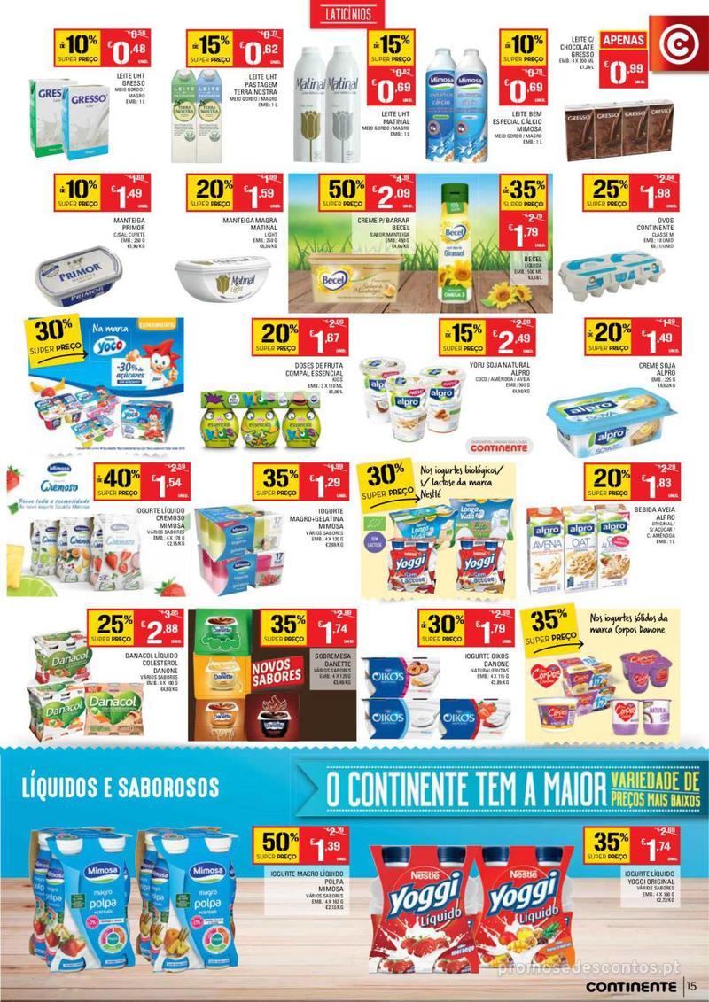 Folheto Continente Tudo aos preços mais baixos  - 8 de Janeiro a 14 de Janeiro - página 15