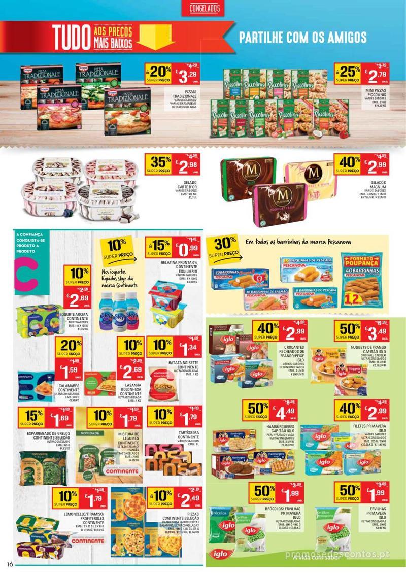 Folheto Continente Tudo aos preços mais baixos  - 8 de Janeiro a 14 de Janeiro - página 16