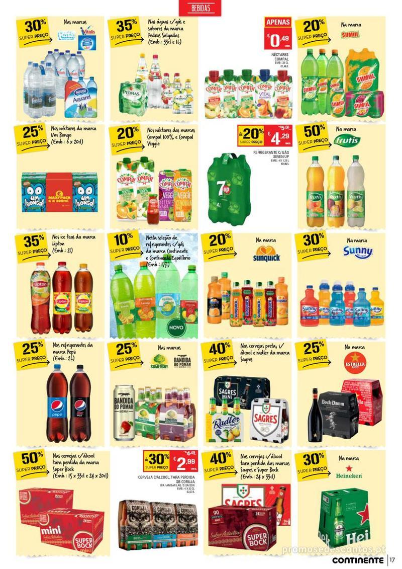 Folheto Continente Tudo aos preços mais baixos  - 8 de Janeiro a 14 de Janeiro - página 17