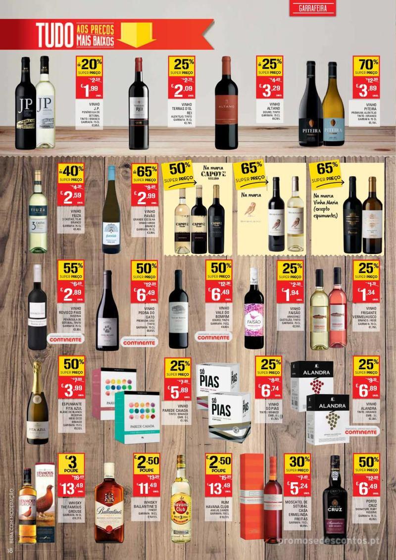 Folheto Continente Tudo aos preços mais baixos  - 8 de Janeiro a 14 de Janeiro - página 18