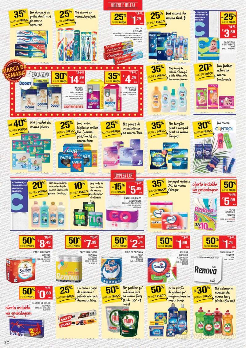 Folheto Continente Tudo aos preços mais baixos  - 8 de Janeiro a 14 de Janeiro - página 20