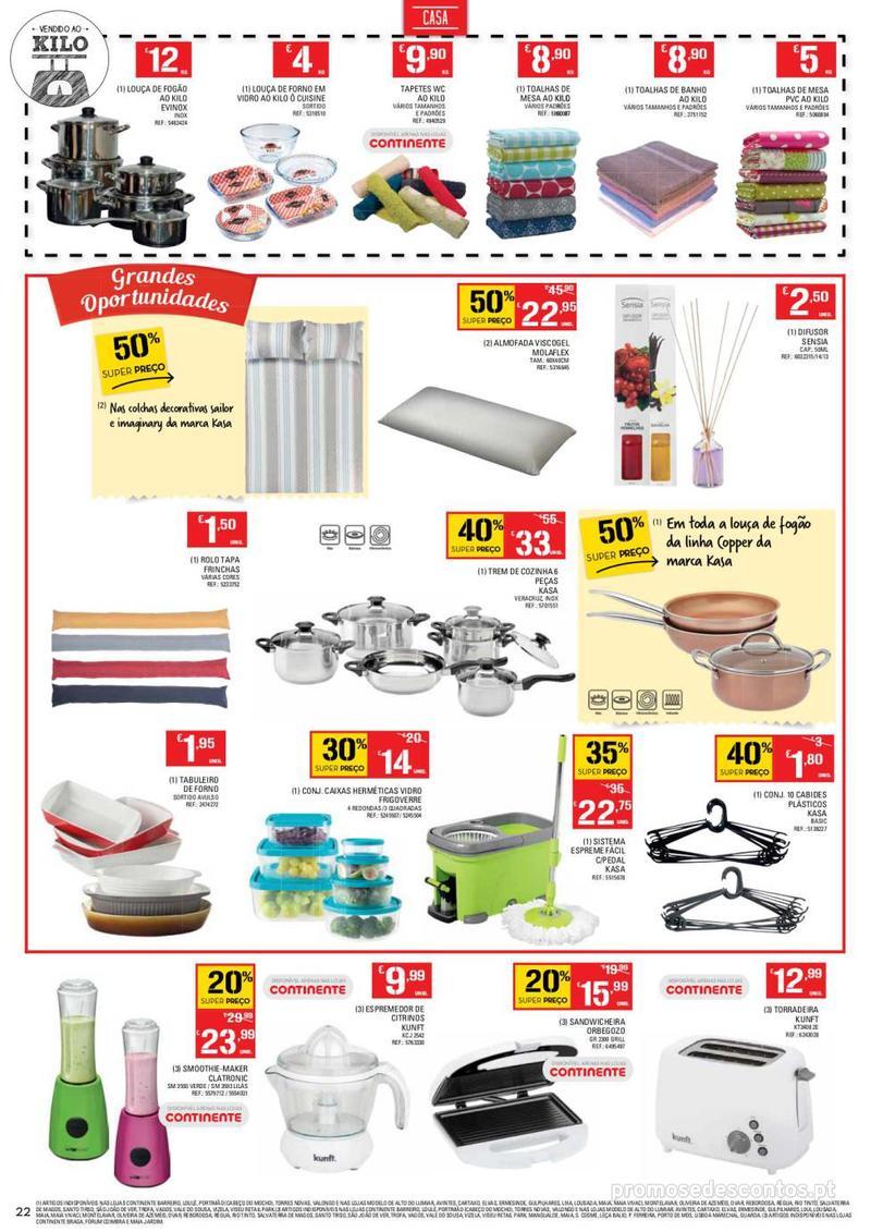 Folheto Continente Tudo aos preços mais baixos  - 8 de Janeiro a 14 de Janeiro - página 22