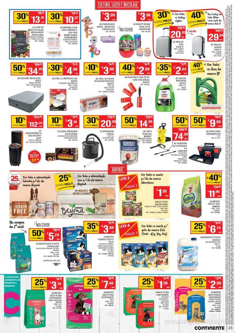 Folheto Continente Tudo aos preços mais baixos  - 8 de Janeiro a 14 de Janeiro - página 23