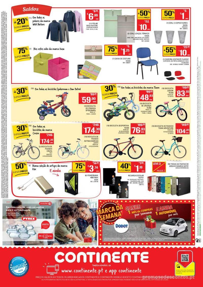 Folheto Continente Tudo aos preços mais baixos  - 8 de Janeiro a 14 de Janeiro - página 24