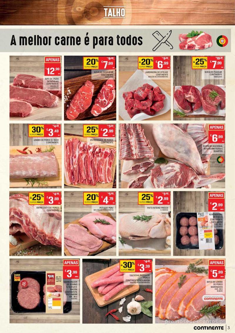 Folheto Continente Tudo aos preços mais baixos  - 8 de Janeiro a 14 de Janeiro - página 3
