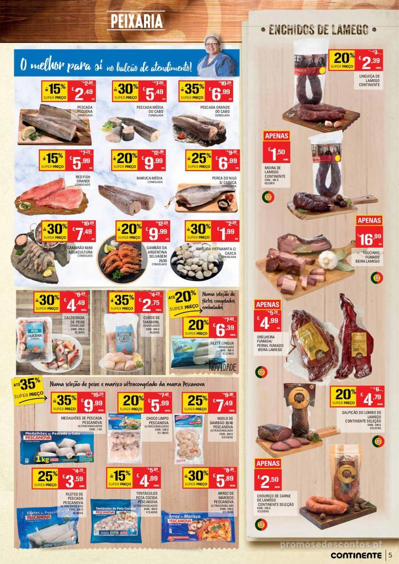 Folheto Continente Tudo aos preços mais baixos  - 8 de Janeiro a 14 de Janeiro - página 5