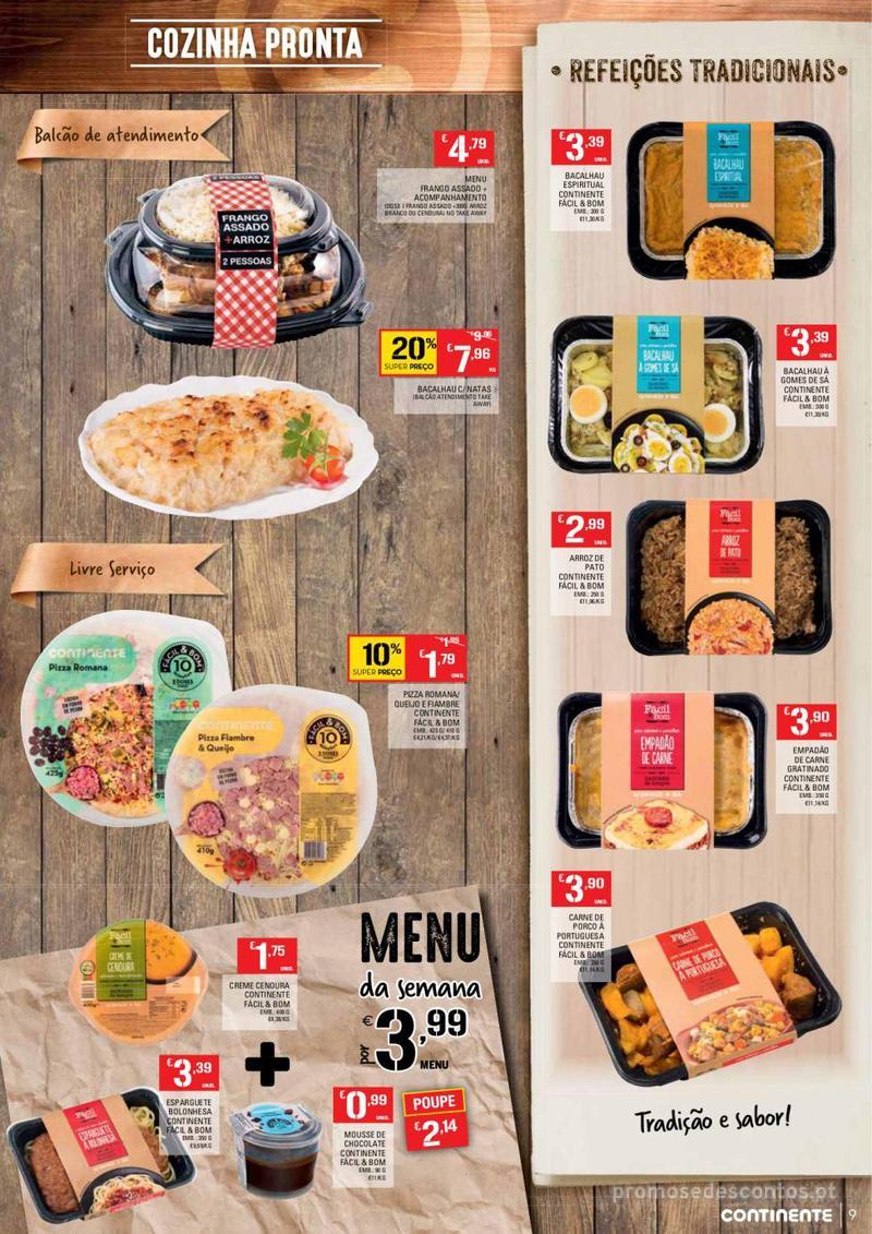 Folheto Continente Tudo aos preços mais baixos  - 8 de Janeiro a 14 de Janeiro - página 9