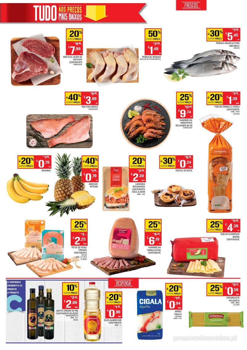 Folheto Continente Os preços mais baixos chegaram a Esmoriz - 6 de Dezembro a 10 de Dezembro - página 2