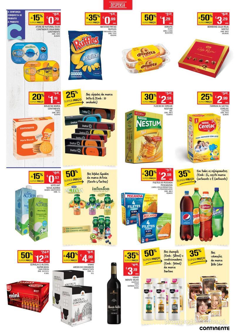 Folheto Continente Os preços mais baixos chegaram a Esmoriz - 6 de Dezembro a 10 de Dezembro - página 3