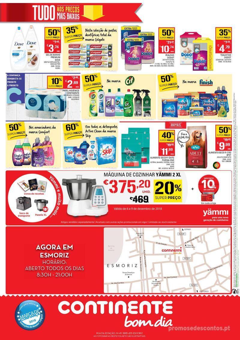 Folheto Continente Os preços mais baixos chegaram a Esmoriz - 6 de Dezembro a 10 de Dezembro - página 4