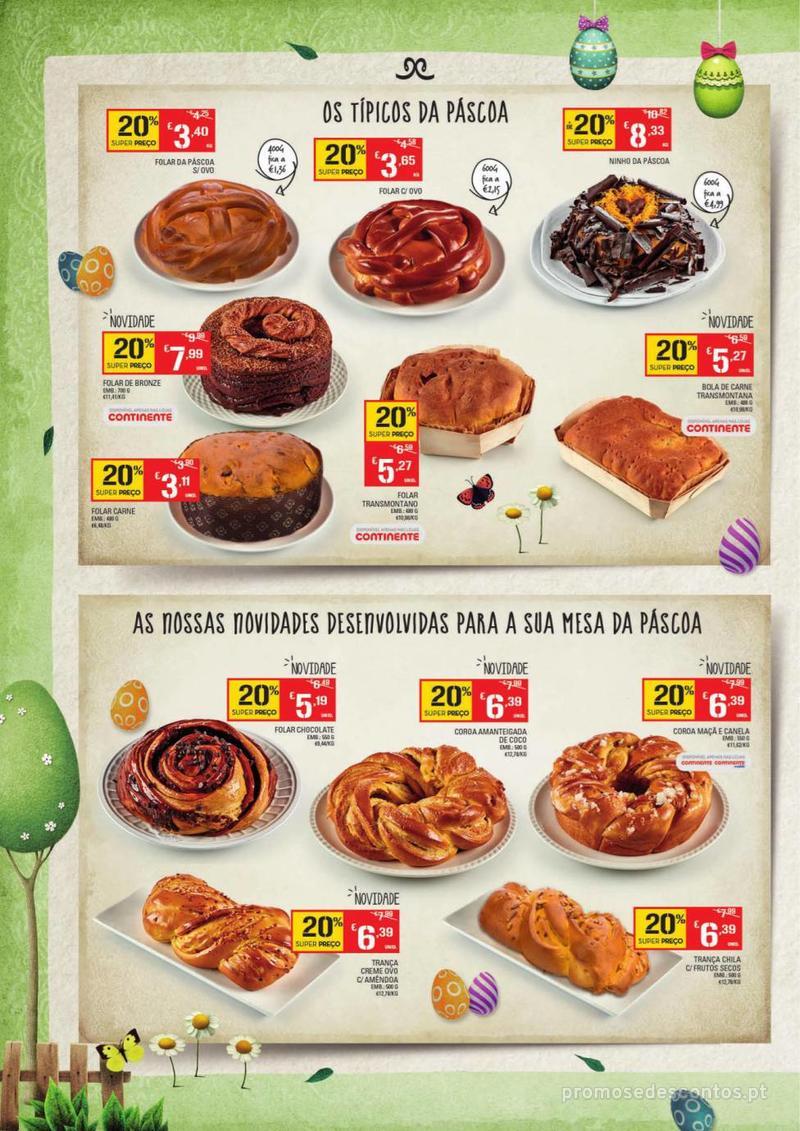 Folheto Continente Os mais deliciosos Bolos de Páscoa - 9 de Abril a 21 de Abril - página 2