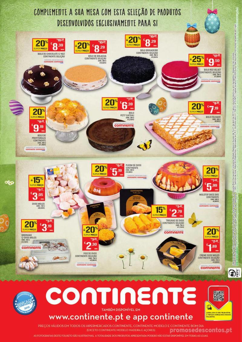 Folheto Continente Os mais deliciosos Bolos de Páscoa - 9 de Abril a 21 de Abril - página 4