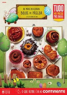 Os mais deliciosos Bolos de Páscoa - 9 de Abril a 21 de Abril