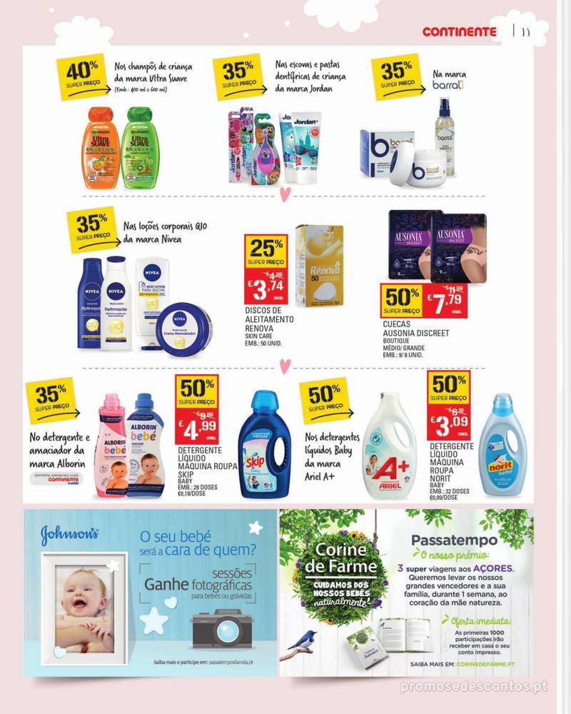 Folheto Continente Feira do Bebé - Continente Modelo - 7 de Janeiro a 28 de Janeiro - página 15