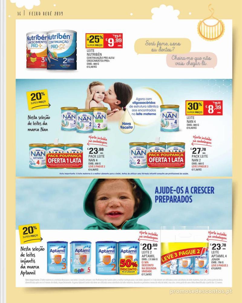 Folheto Continente Feira do Bebé - Continente Modelo - 7 de Janeiro a 28 de Janeiro - página 16