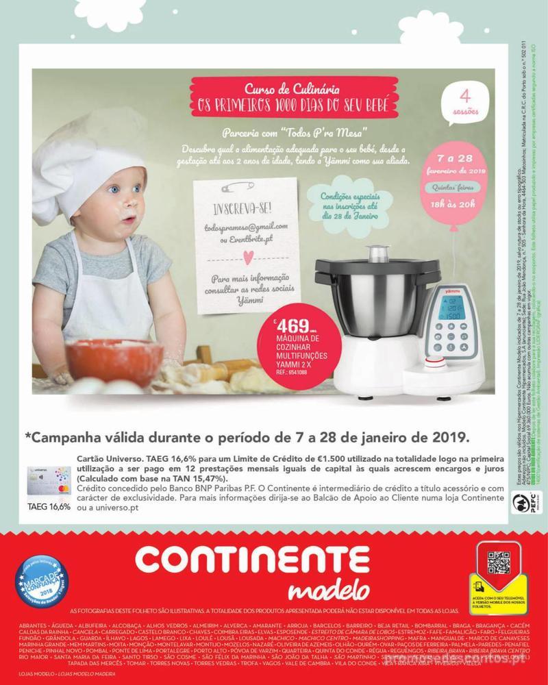 Folheto Continente Feira do Bebé - Continente Modelo - 7 de Janeiro a 28 de Janeiro - página 20