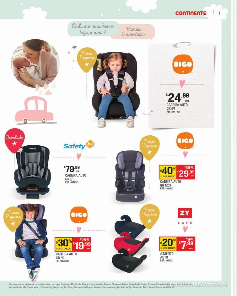 Folheto Continente Feira do Bebé - Continente Modelo - 7 de Janeiro a 28 de Janeiro - página 3