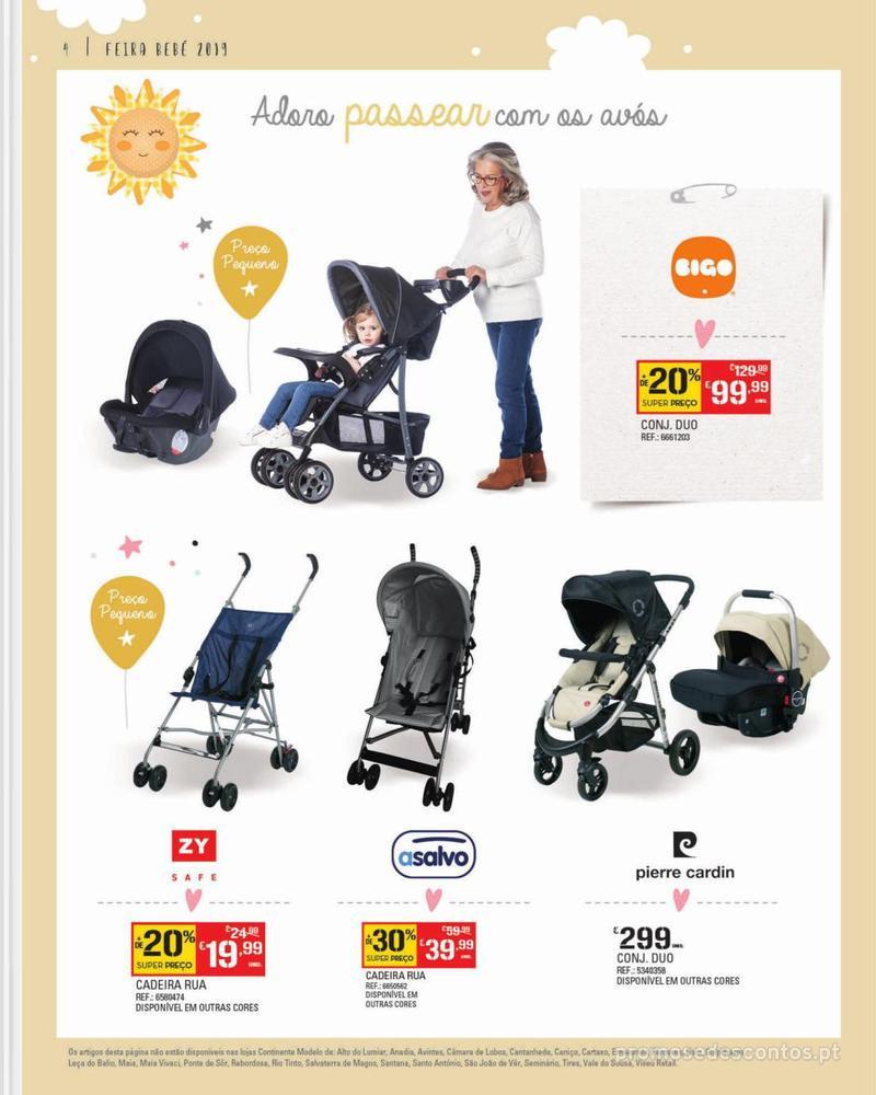 Folheto Continente Feira do Bebé - Continente Modelo - 7 de Janeiro a 28 de Janeiro - página 4