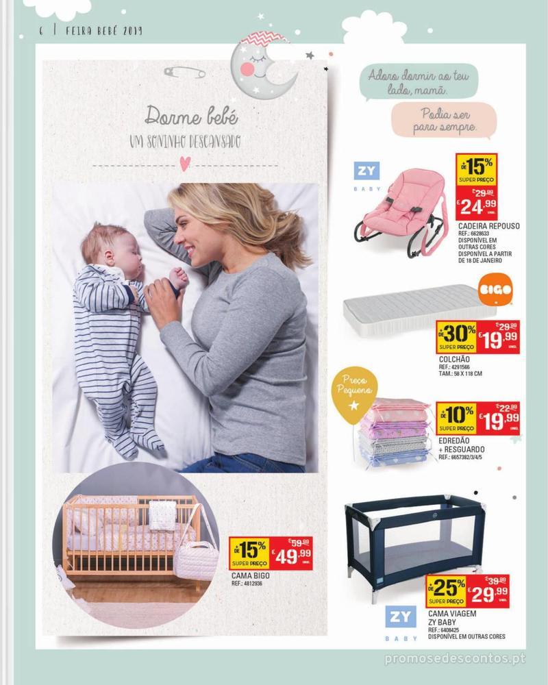 Folheto Continente Feira do Bebé - Continente Modelo - 7 de Janeiro a 28 de Janeiro - página 6