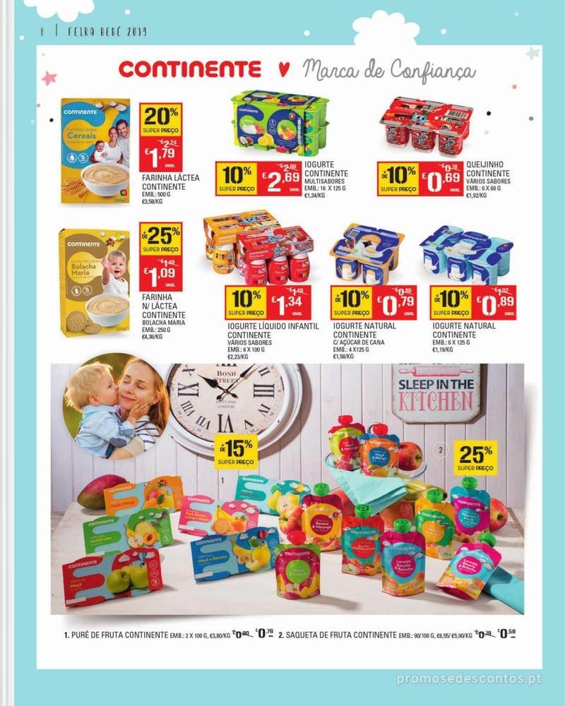 Folheto Continente Feira do Bebé - Continente Modelo - 7 de Janeiro a 28 de Janeiro - página 8