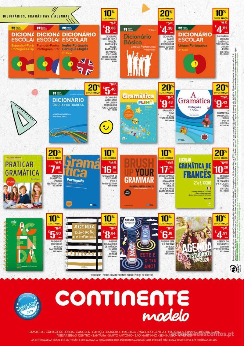 Folheto Continente Regresso às Aulas - 13 de Agosto a 18 de Setembro - página 4